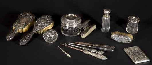 Sterling Silver Miscellaneous Dresser Pieces