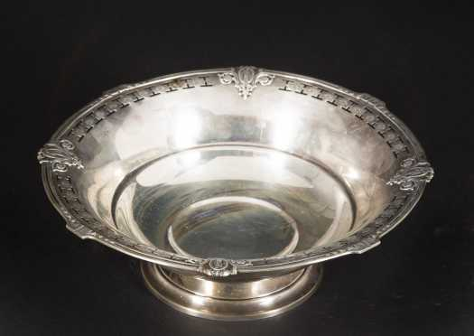 Sterling Silver Reticulated Edge Bowl
