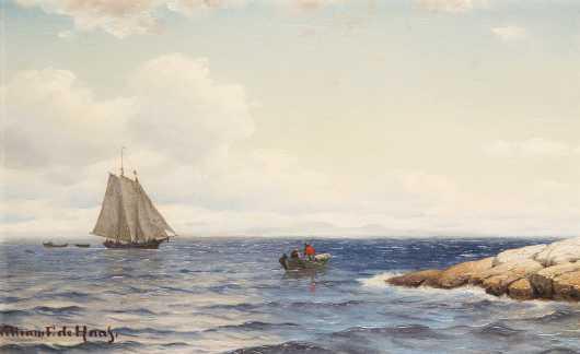 William Frederick De Haas (1830-1880)