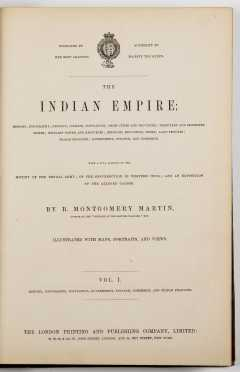 """""""The Indian Empire: History, Topography, Geology, Climate, Population, Chief Cities and Povinces"""""""