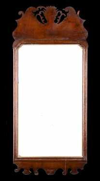 Queen Ann Mirror In Old Finish
