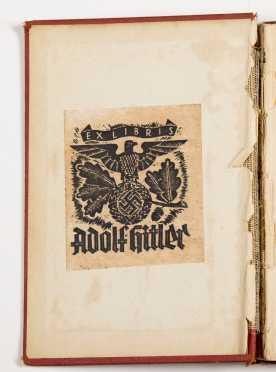 Adolf Hitler bookplate