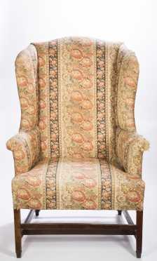 Hepplewhite New England Wing Chair