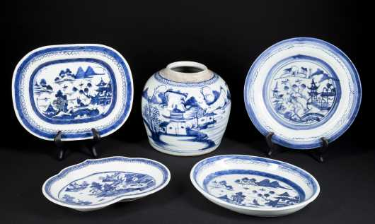 Chinese Export Canton Porcelain