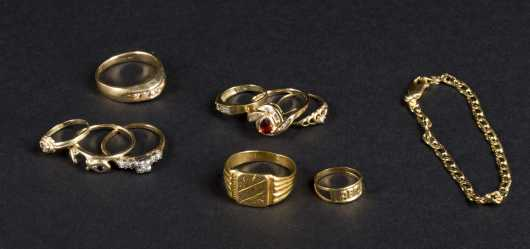Misc. Gold Rings