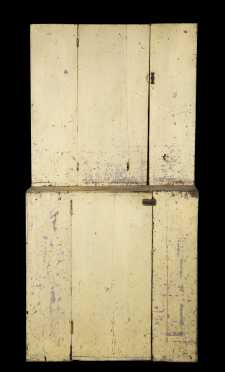 Country NH Stepback Cupboard