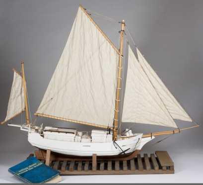Ship Model of the Spray-Boston