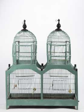 Twin Tower Bird Cage