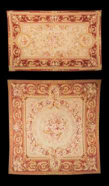 Two Aubusson Style Rugs