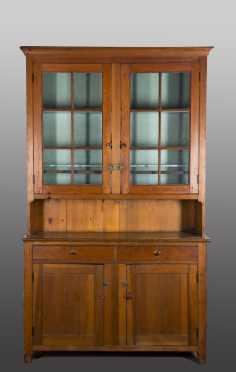 Pennsylvania Two Part Glazed Door Cupboard