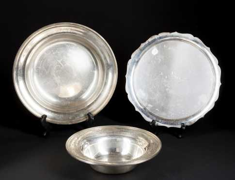 Three Sterling Silver Pieces