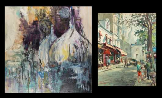 Two Contemporary Paintings