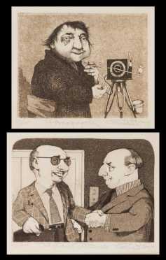 Charles Bragg (1931-  ?), California, 2 Limited Edition Prints