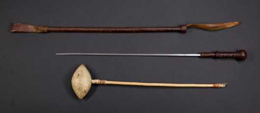 Tribal War Club and Sword Crop