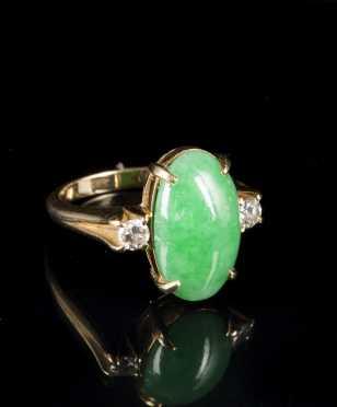 Jadeite Ladies Ring