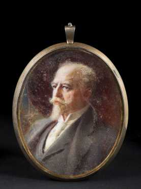 Miniature Painting of General Joseph T. Torrence