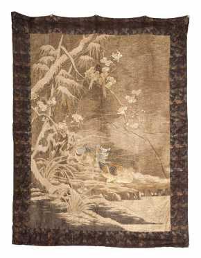 Japanese Metal Thread Textile
