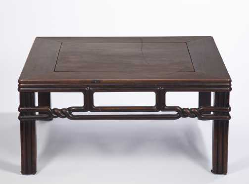 Japanese Hardwood Low Table