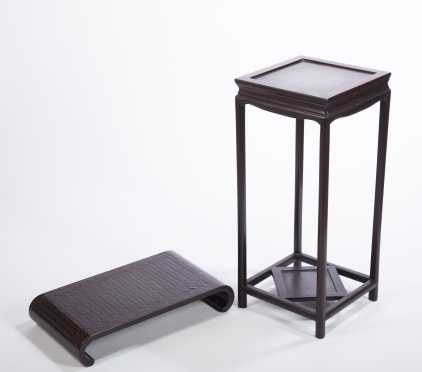 Japanese Display Table and Stand