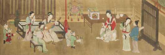 Chinese Painting Silk