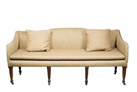 Country American Sheraton Sofa