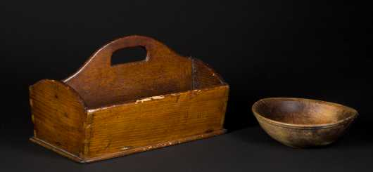 Cutlery Box and Early Bow