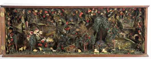 Diorama-An Exotic Garden of Paradise