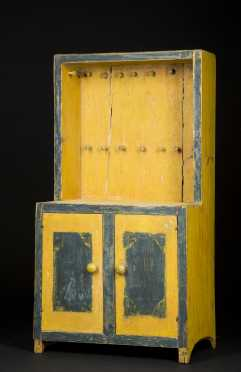 Child's Painted Cupboard