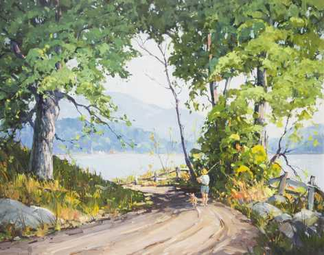 Robert Shaw Wesson, 1902-1967, MA and Canada, oil on canvas