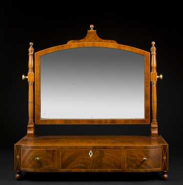 English Regency Dressing Mirror