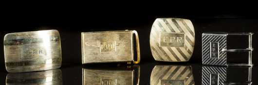 Mens Gold and Silver Belt Buckles