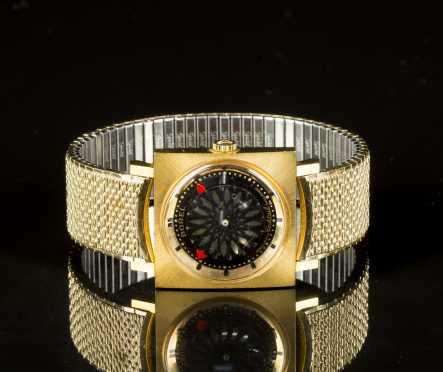 "Ernest Borel ""Cocktail"" Mans Wrist Watch"