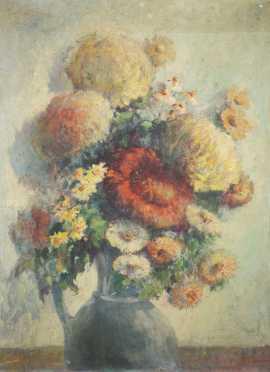 Jeanette Slocomb Edwards, E20thC., Delaware, PA, Oil on Artist Board