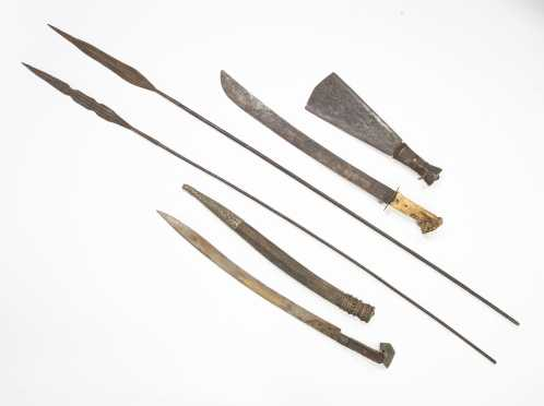 Lot of Swords and Spears