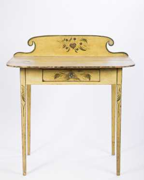 Yellow Decorated Dressing Table