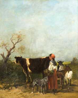John Lewis Brown (1829-1890), Oil on canvas