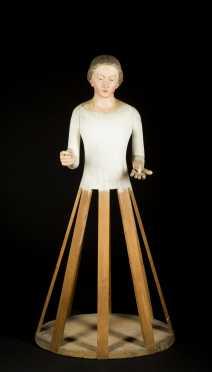 "Santos Caged Doll, 37"" tall"