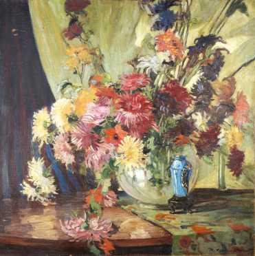 Mand Drein Bryant (1880-1946) Oil on canvas