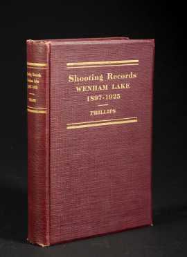 Wenham Lake Shooting Record and the Farm Bag 1897-1925, by John C. Philips