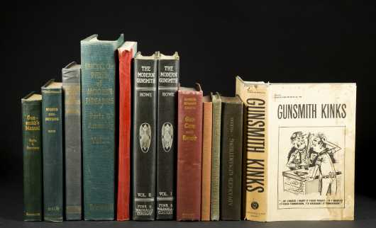 12 Books on Gunsmithing and Related.