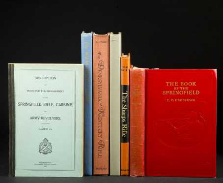6 Books on Rifles