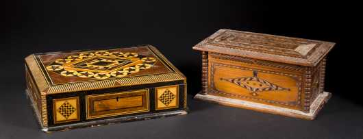 Two Inlaid Boxes