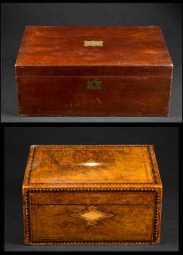 Two 19thC Desk Boxes