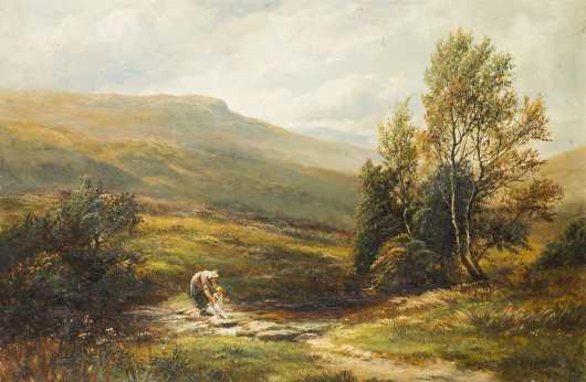 William Lakin Turner (1867-1936), United Kingdom, Oil on Canvas