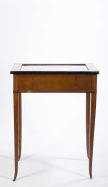 Beidermeier Vitrine Table
