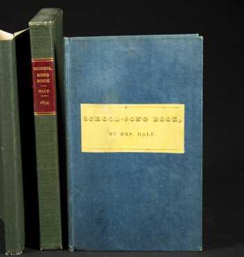 The School Song Book by Sarah J. Hale (Allen & Ticknor,1834)