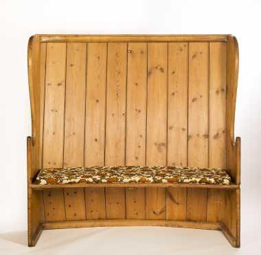 English Pine Settle Bench