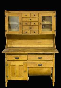 Maple Hoosier Cabinet