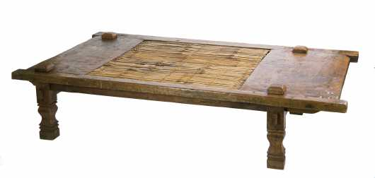 Indonesian Loom Coffee Table