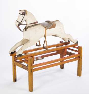 Platform Child's Hobby Horse